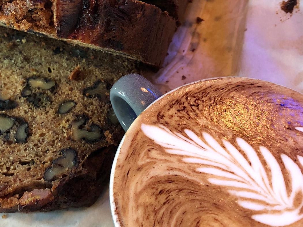 Baritalia breakfast and coffee
